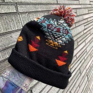 Vintage Aztec Beanie Hat